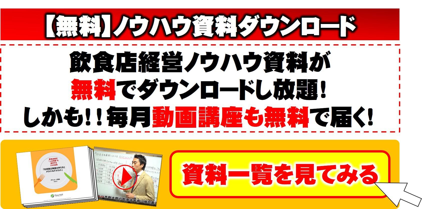 飲食店経営のノウハウ資料ダウンロード【無料】