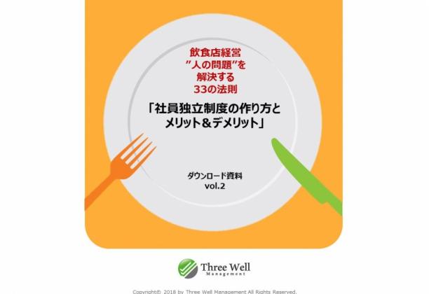 Vol.2 飲食店の社員独立制度の作り方とメリット&デメリット